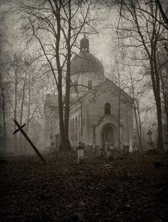 In the fog…