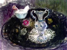 Still Life with Venetian Vase Anne Redpath