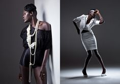 african fashion - sudanese - studio by Dean Bradshaw  Hair and Makeup: Kimberly a Carlson