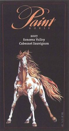 Paint Horse Wine Label