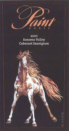 Paint Horse Wine Label