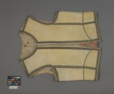 (RASCH 15010 (42:89)) Early Buff Coat. Early 1600, Sweden. Royal Armoury, Stockholm, Sweden. 2 pictures.