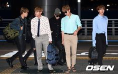 [The Seoul Story] BTS spotted at Incheon International Airport today, heading to Las Vegas to attend 2017 Billboard Music Awards