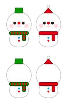 이웃님들이 좋아하실(?) 눈사람 가랜드를 만들어봤어요 제 스탈로 깔끔하게 만들어봤는데 이번주말에 트리 ... Diy And Crafts, Christmas Crafts, Arts And Crafts, Christmas Ornaments, 3d Pen, Felt Garland, Christmas Deco, Art For Kids, Kindergarten