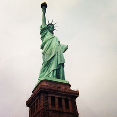 statue of liberty new york city #travel #nyc