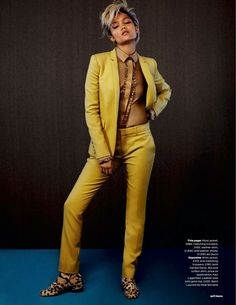 Just Dandy: Charlotte Carey By Jeff Hahn For Uk Elle October 2014 Gucci