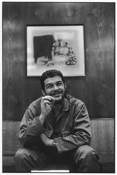 Che Guevara, one of America's greatest enemies, but to many others a hero. He fought against tyranny in Cuba and even stood up against the greatest power in the world, being such a small country. He was a freedom fighter that fought a revolution and won. His greatest weapon was love.
