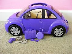 Barbie VW Bug, I had three a pink, a red, and a purple!