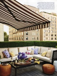love this awning