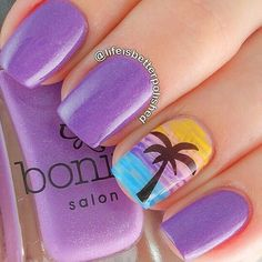 I am unfolding before you 18 beach nail art designs, ideas, trends & stickers of these summer nails are adorable and stunning. Cruise Nails, Vacation Nails, Beach Nail Art, Beach Nails, Beach Pedicure, Beach Art, Fancy Nails, Diy Nails, Beach Themed Nails
