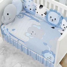 Baby Duvet, Baby Crib Bedding, Kids Beds For Boys, Kid Beds, Baby Boy Rooms, Baby Boy Nurseries, Elephant Themed Nursery, Baby Clip Art, Baby Kit