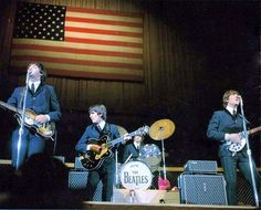 On 8-19 in 1964 -  over 50 years ago, The Beatles were on their first full US tour with their concert at The Cow Palace in Daly City (just south of San Francisco) - songs they sang included Twist and Shout, You Can't Do That, All My Loving, She Loves You, Things We Said Today, Roll Over Beethoven, Can't Buy Me Love, If I Fell, I Want to Hold Your Hand, A Hard Day's Night and Long Tall Sally.