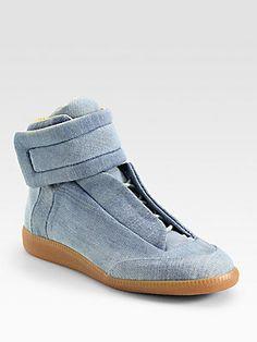 Maison Martin Margiela Denim Sneakers