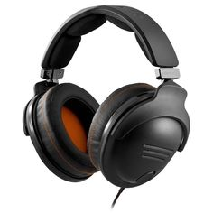 Powerful, detailed sound experience via tournament grade audio drives. Specifically optimized for in-game sounds such as footsteps, alerts and gunfires. Extra-padded, soft all-leather design provides comfort during long sessions.