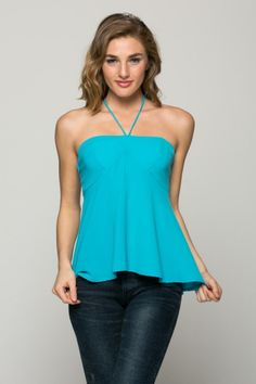 Open Back Chico sleeveless top