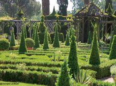 Jardin en Vendée à Thiré - Photos: Georges Lévêque
