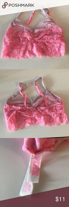 VS Pink Bralette Size Small, Barely Worn VS Pink Bralette PINK Victoria's Secret Intimates & Sleepwear Bras