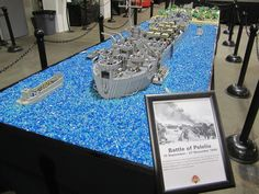 https://flic.kr/p/fLcrNU   Brickmania Toyworks 2   The Peleliu Invasion was set up for the open house at Brickmania Toyworks last night for the open house. It was the first time the display has been set up at home since June. It will remain on display at the Toyworks for most of the remaining year.