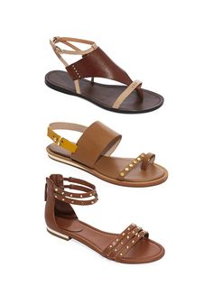A pretty and polished alternative to flip-flops, these on-trend sandals will elevate all your summer looks.