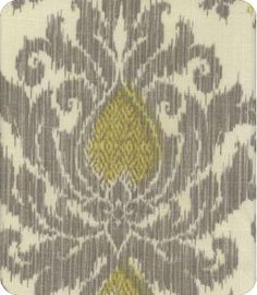 Ikat Silver/Grey Yellow/Gold // Style: Bedazzle // Color: Silver Lining 673283 // Item ID: 1093325 // at Lewis & Sharon