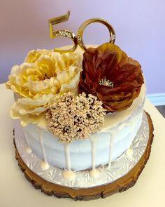 50th Naked Birthday Cake #DvasCakes