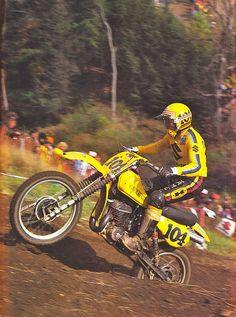 De Coster Enduro Vintage, Vintage Motocross, Vintage Bikes, Vintage Motorcycles, Vintage Racing, Mx Racing, Off Road Racing, Bike Icon, Mx Bikes