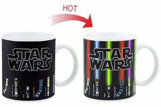 Star Wars The Force Awakens Heat Changing Lightsaber Mug