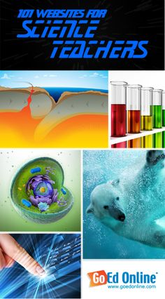 101 Websites for Science Teachers - This list includes sites for earth science, life science, physical science, and even some web 2.0 tools!