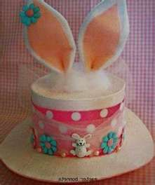 easter bonnet i had one just like this when i was in grade one