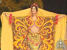 My tipical dress manta guajira from my country Venezuela