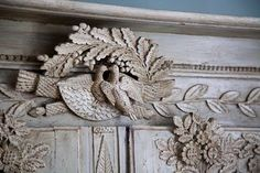 French armoire detail