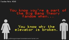 Crap, I know why the elevator is broken!