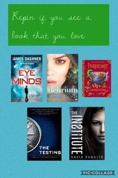 Love the eye of minds by James dashner!