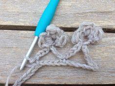 mooi bloemensteekje - lovely flower crochetstitch