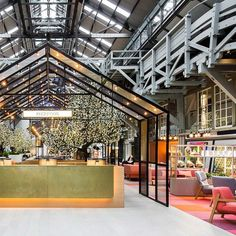 This weekend well take a look inside Sydneys Ovolo Hotel by @hassell_studio which transforms a century old wharf building into a greenhouse inspired travel destination. Photographed by @nicoleengland #ovolowoolloomooloo #designhotel #hassell by jardanfurniture
