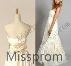 ALine Princess Strapless Ruffle sleeveless Floorlength by missprom, $129.00