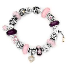 Pandora Key To My Heart Bracelet