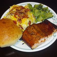 Delicious Salmon Allrecipes.com - From @Laura Ford.  Huge hit!  Moist and yuuuuummmy!