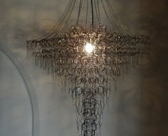 Bed Spring Chandelier by Sally Mill