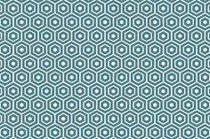 Stoff grafische Muster - Lost and Found 2, türkis, R. Blake, 0,5m - ein Designerstück von kidstixx-Stoffe bei DaWanda