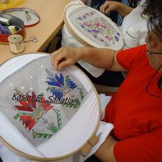 Photo from hesapisi Folk Embroidery, Cross Stitch Embroidery, Embroidery Patterns, My Sister In Law, Bargello, Couture, Needlework, Monogram, Elsa