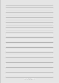 Narrow ruled paper with white lines on a light gray background