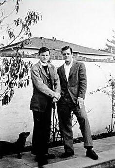 Roddy McDowell and Richard Long