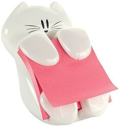 Post-it Pop up Cat Dispenser has weighted base for easy dispensing and is ideal for commercial application. Cat Post it Dispenser is refillable, x notes. Cat Gifts, Cat Lover Gifts, Cat Lovers, Kitten Baby, Pop Up, Cute Stationary, Stationary Supplies, Stationary Items, Stationary School