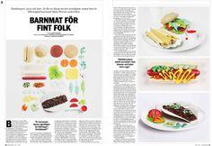 Nojesguiden - Fast Food by Ollanski , via Behance