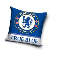 FC Chelsea modrá obliečka na vankúš