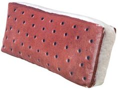 ice cream sandwich pillow!! i want one
