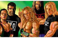 Nwo Wrestling, Wrestling Superstars, Cheap Short Prom Dresses, Kevin Nash, Shawn Michaels, Red Hood, Wwe Wrestlers, Professional Wrestling, Wonder Woman