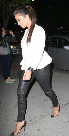 Kim Kardashian Fashion Style: Photo