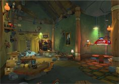 ArtStation - Wildstar Interior Art (Set Dressings), Travis Inman